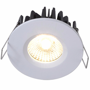 2018 foshan new product fireproof 8w 10w 12w ic rated led ceiling lamp 3000k 4000k downlight dimmable