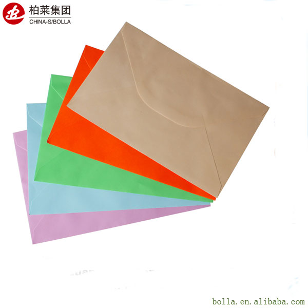 High Quality Cheap Colorful Paper Envelope Wholesale