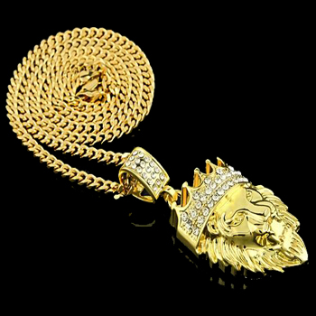 real gold pendant necklace