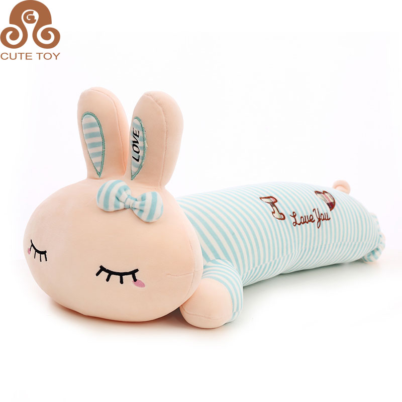 lovely cartoon rabbit plush toys pillow sofa cushion for house decoration dolls