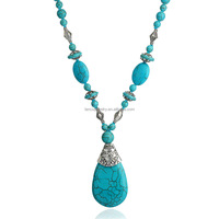 Turquoise Stone Necklace Beads Necklace Design