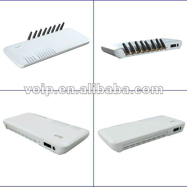 Penyedia sip goip 8 port voip gsm gateway/sims voip layanan voip gateway Goip 8 gateway