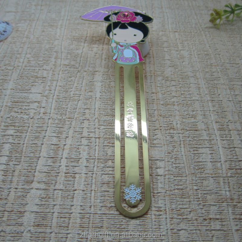 New Style Novelty Bookmark Etched Beautiful Bookmark