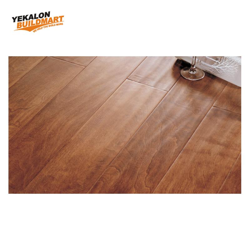 Used Badminton Basketball Court Parquet Oak Solid Hard Wood Flooring