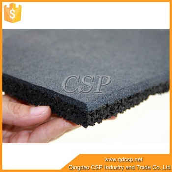 1m 1m Size Rubber Mat Fitness Flooring Crossfit Rubber