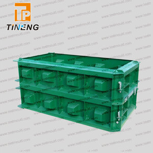 interlocking concrete lego block moulds for precasting concrete block