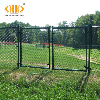 Steel Wire Fence | 6ft Chain Link Fence In Iron Steel Wire Mesh Pvc Coated Chain Link