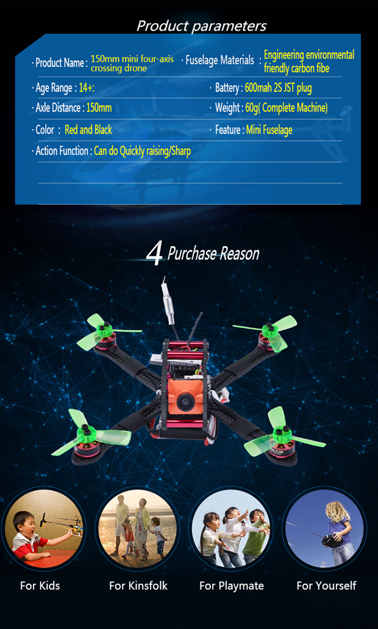 Q01 Best Christmas Gift Set FPV  Racing Mini Quadcopter HD Camera Drone