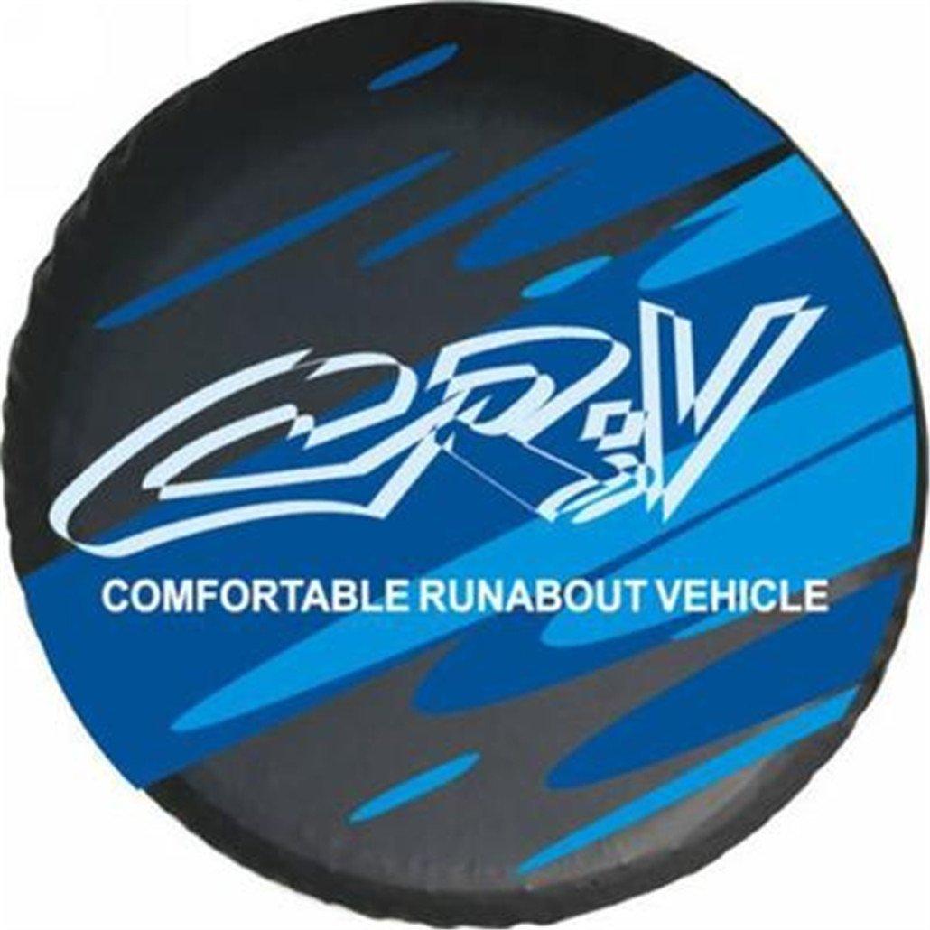 Blue Logo Honda Crv 16 Inch Car Spare Wheel Cover Spare Tire Cover