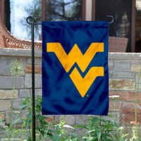 WVU Mountaineers Blue Garden Flag Double sides printed and 1 material insert for outdoor
