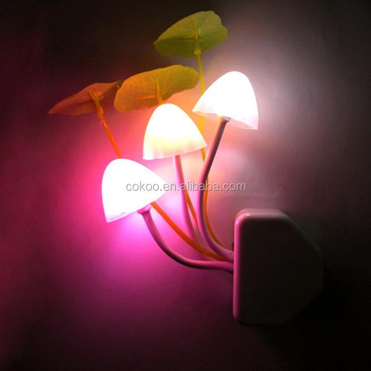 Led Wall Light 2015 New Design High Quality Mushroom Baby Night ...