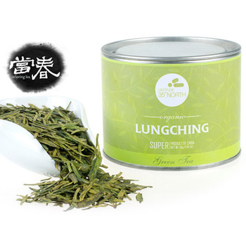 High-grade Natural Chinese Green Tea, Lungching Special Chinese Green Tea