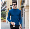 Knitted Custom knitted wool Pullover Cotton Slim Fit Blank fashion Men Sweater
