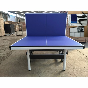 Good Quality Sanwei Table Tennis Table 25mm Folding Table Legs Ping Pong  Table