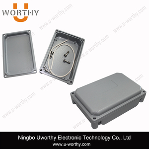 hot sale new product small wall mount die cast aluminum junction box waterproof 150 100 40 mm