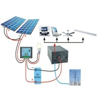 700w small solar power bank for home, complete solar power system 700W for small home