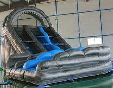 2017 cheap amusement water park inflatable slide for sales