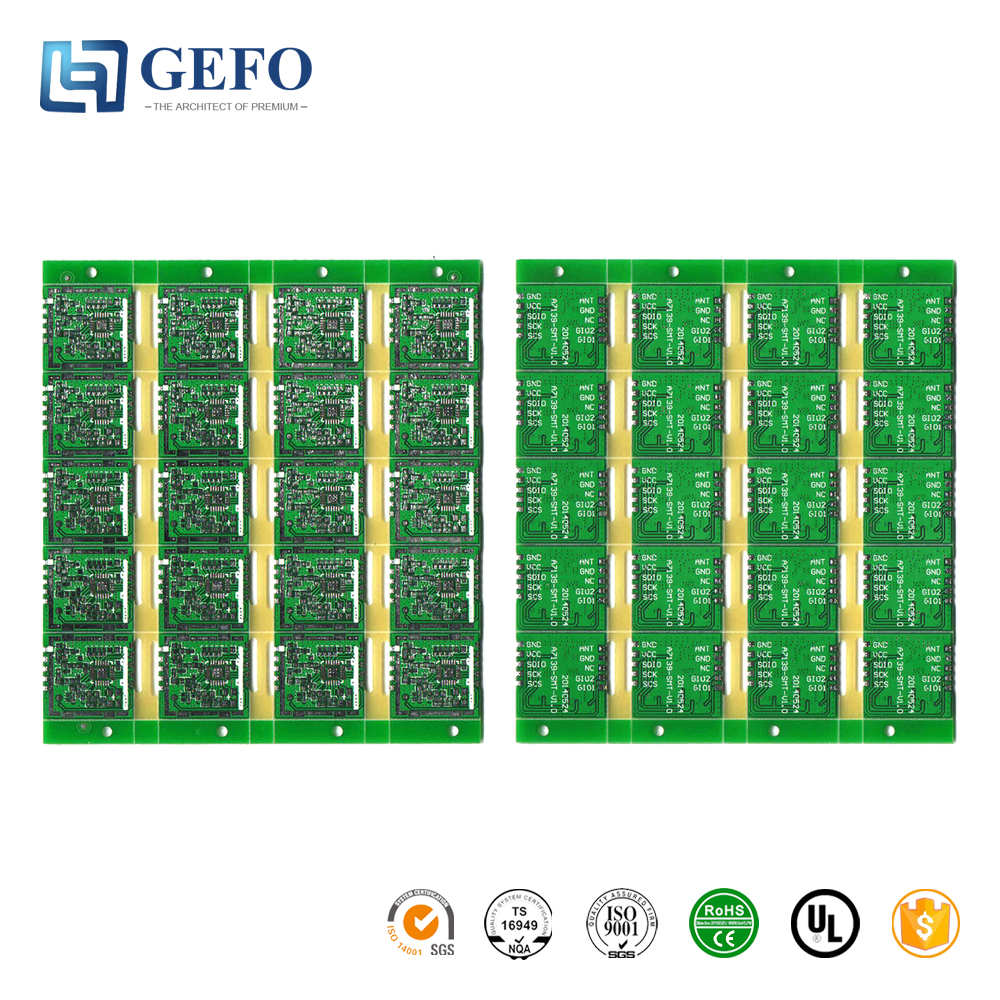 FR4 94V0 RoHS High TG Material Flame Resistance Bluetooth Printed Circuit Board Factory