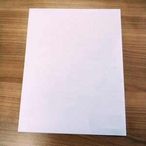 30 labels a sheet free white Blank adhesive Shipping Label Mailing Address Return Laser Labels