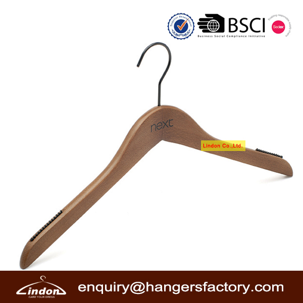 Custom Brand Black Hook Clothes Hanger Guangxi