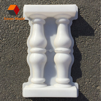 Precast concrete vase column plastic baluster moulds for sale with factory price