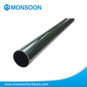 Special round wardrobe tube 25mm bendable steel wardrobe pipe