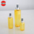 New design luxury plastic pump shampoo bottle