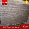 Chinese Cheapest Peach Red Granit G687 China