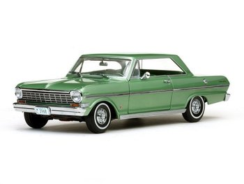 Sunstar American Collectibles 1 18 Scale 1963 Chevy Nova Hard Top Green Cast Car Model