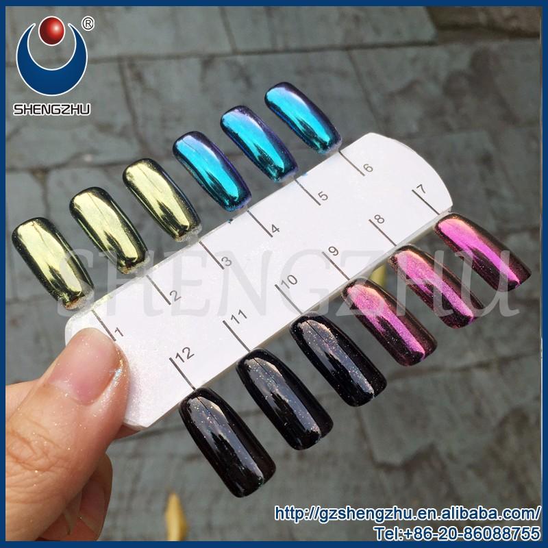 Camaleón Color Metálico Efecto Espejo Polvo De Pigmento Para Uñaspinturarevestimiento Buy Pigmento Metálico En Polvopigmento De Camaleónpigmento