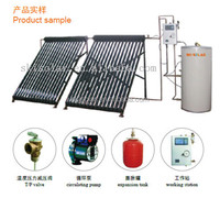 2015 hot sale home split solar energy thermal power system; Separate solar water heater system circulating pump;thermostats