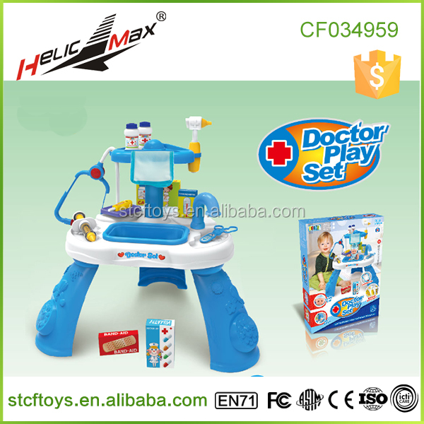 Play Pretend Tool Table Doctor Toy Set Childrens Medical Toys