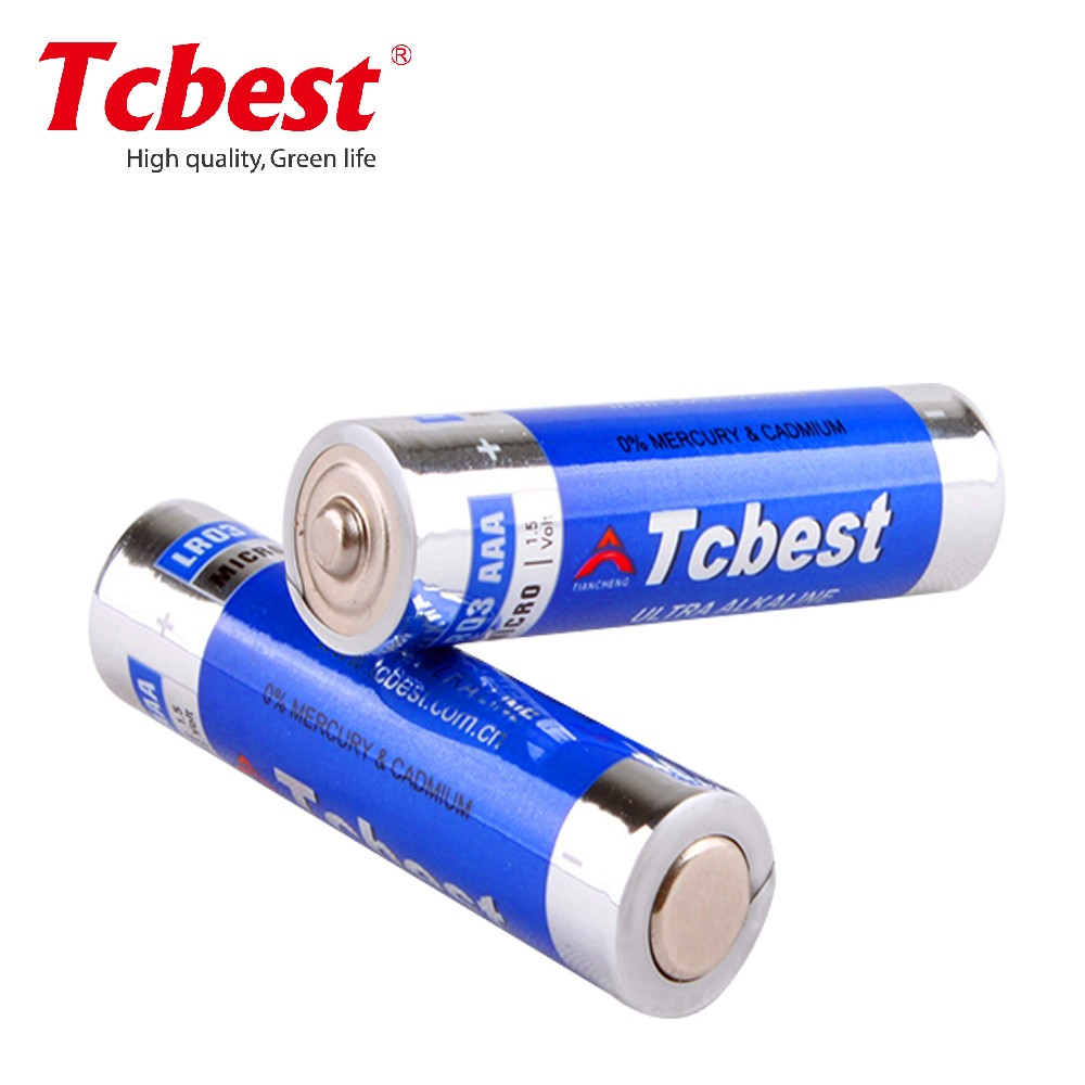 Wholesale 1.5V battery LR03 Super Alkaline battery