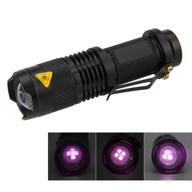 Zoomable Flashlight Infrared 940nm 3Core Aluminum Flashl Light IR 850nm lanterna Infrared Night Vision LED Torch for AA battery
