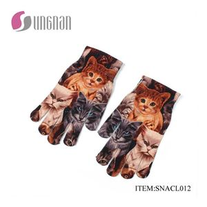 2017 new style customized animal looking gloves