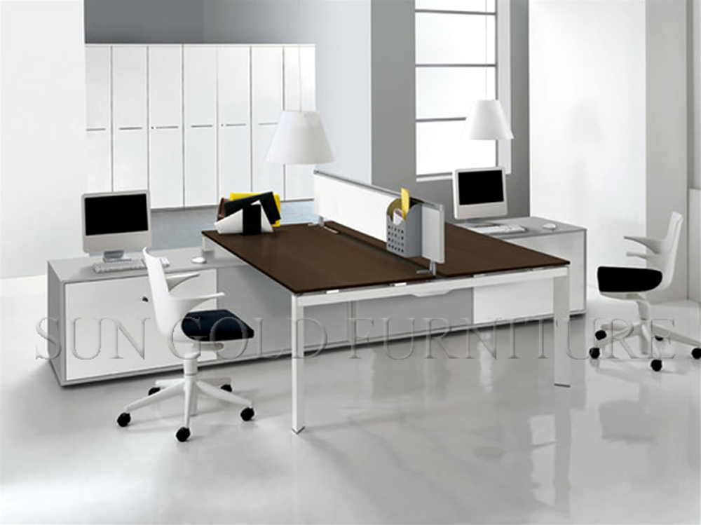 Modern Design Office Layout Cubicle Workstation For 2