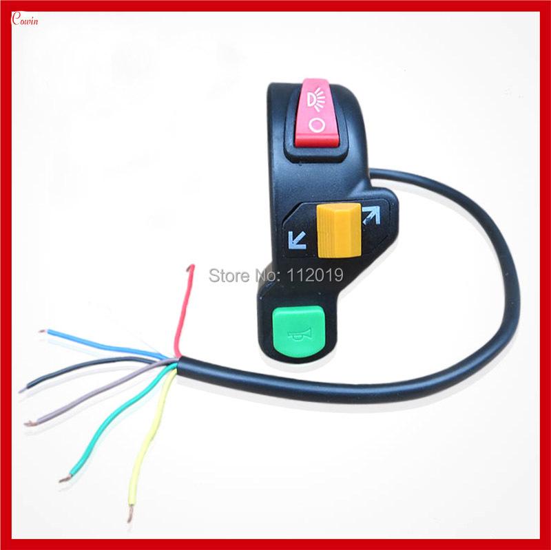 Новый многофункциональный 3 в 1 ремонт мотоциклов переключатель, включите свет сигнала, рог переключатель в сборе