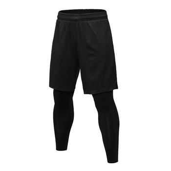 Compression gym Sport wear tights Running Mens yoga Leggings Sport Pants