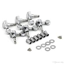 6R Right 6L Left 3L+3R String Tuning Pegs Tuners Tuner Chrome Inline Guitar Machine Head 6R Right est