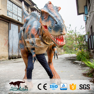 OA3359 Animatronic Dinosaur Costume Adult Walking Puppet Raptor Dinosaur Costume