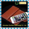 "Wallet Case (Brown) Cash and Credit Card Holder for iphone 6 (4.7"") - Stand Feature and 2 Free Bonuses for Iphone 6"