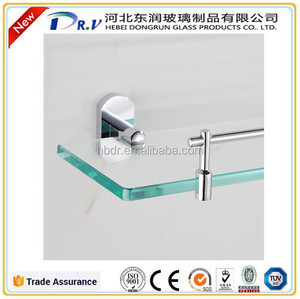 Tempered sanitary bathroom glass anti-explosion tempered shelf glass