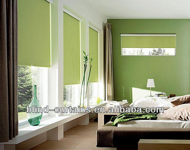 Wonderful Apple Green Roller Blinds Fresh Style Good For Eye Buy