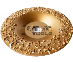 115mm Tungsten Carbide Abrasive disc for grinding rubber and Fabric.