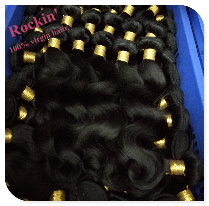 2015 Cheap Double weft shedding free popular indian virgin hair body wave 7a Grade healthy natural color