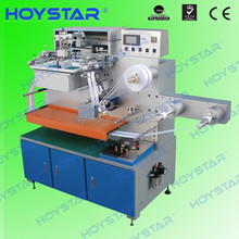 hongyuan single color screen printer roll to roll for ribbon