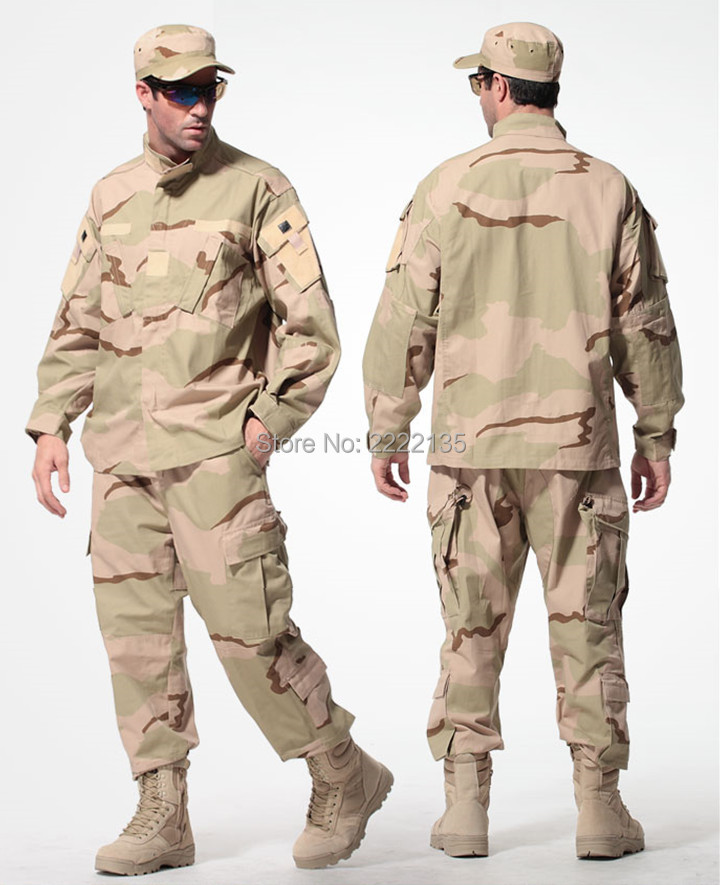 Desert Camoflage Uniform 87