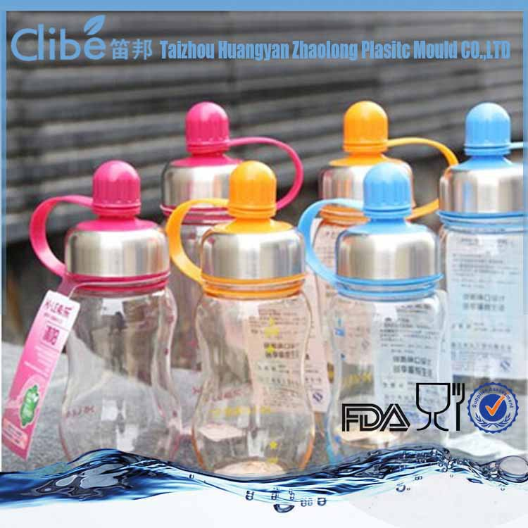 Hot Sell Custom Made Transparent Water Sports Bottle With Caps, water bottle filter cap