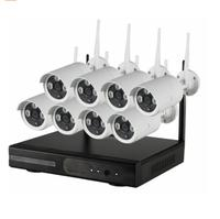 8ch Ir Hd Home Security Wireless Nvr Ip Camera System 720p Cctv Set Outdoor Wifi Cameras Video Nvr Surveillance Cctv Kit