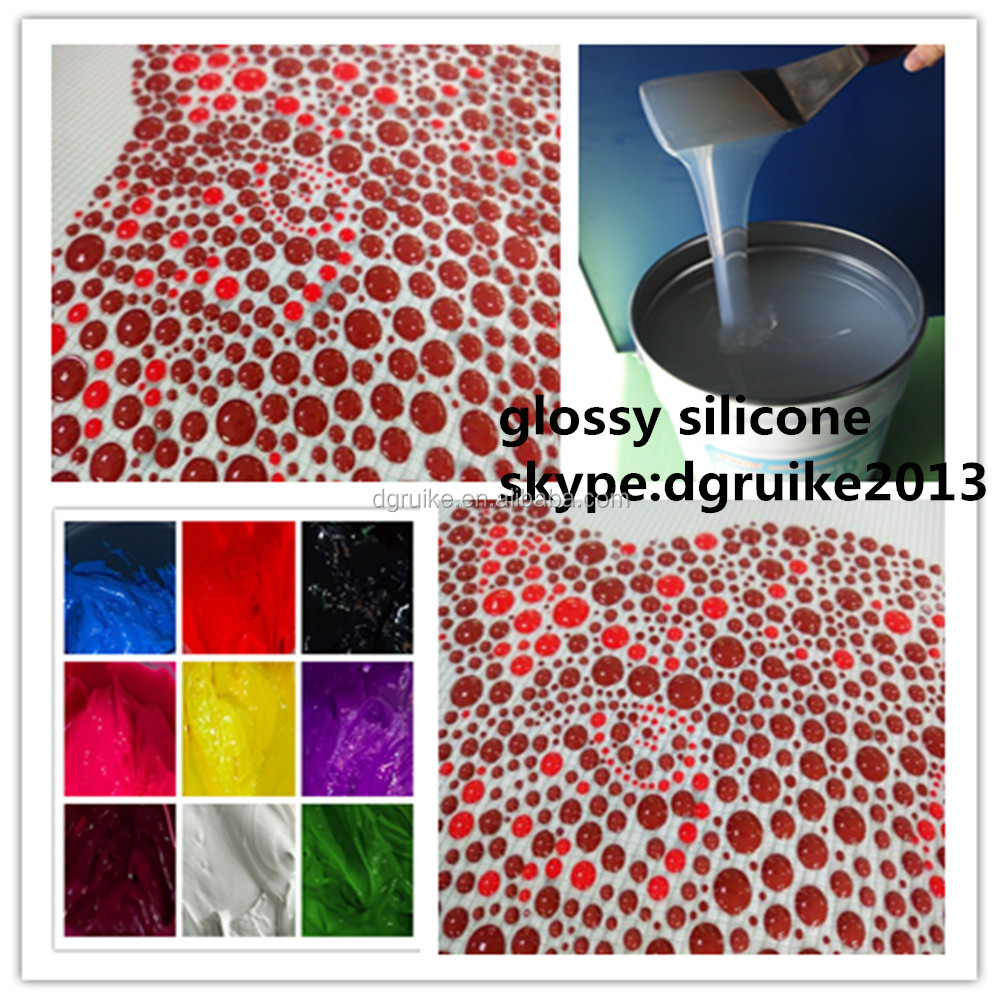 Silicone ink Used for Serigraph printing on Microwave oven gloves